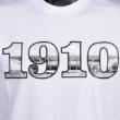 Felnőtt - 1910 felirat, DVTK Stadion fotóval - fehér póló