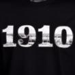 Gyerek - 1910 felirat, DVTK Stadion fotóval - fekete póló