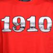 Gyerek - 1910 felirat, DVTK Stadion fotóval - piros póló