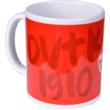 DVTK jégkorongos bögre - piros
