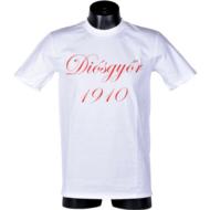 Felnőtt – fehér, piros felirat – Diósgyőr 1910