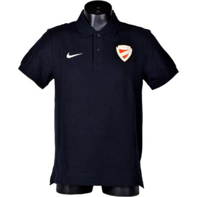 Nike galléros fekete póló