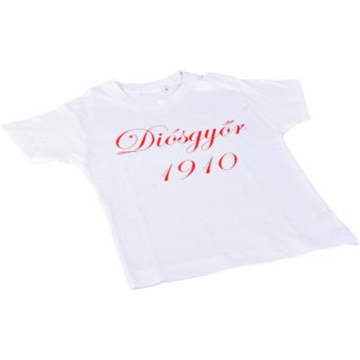 Gyerek – fehér, piros felirat – Diósgyőr 1910