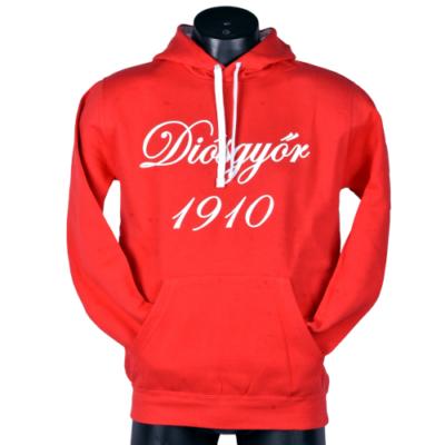 Piros Diósgyőr 1910 pulóver