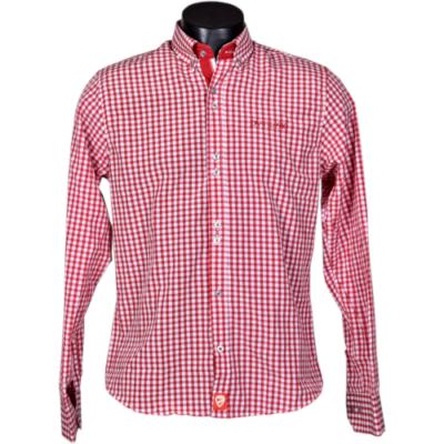 DVTK Special - piros-fehér kockás ing