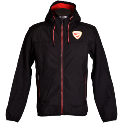 Fekete softshell kabát