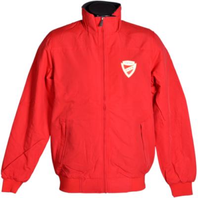 Piros átmeneti kabát