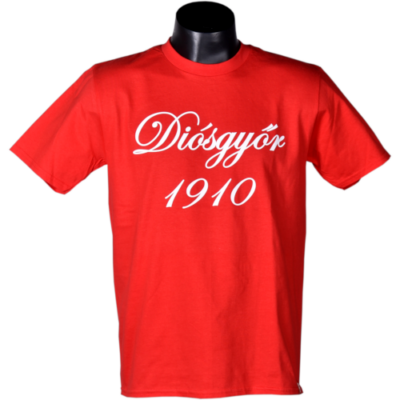Piros - felnőtt - Diósgyőr 1910
