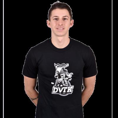 DVTK lovagos póló fekete