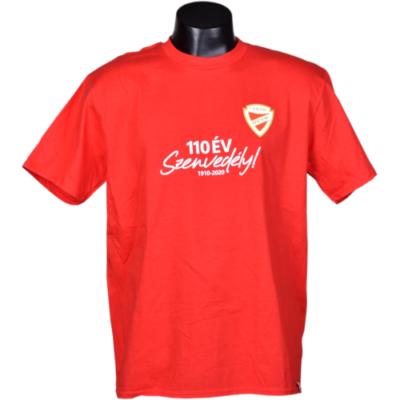 Felnőtt - 110 Év Szenvedély! - piros póló