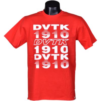 Felnőtt - DVTK 1910 - piros póló