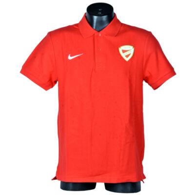 Gyerek - Nike galléros piros póló