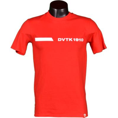 Piros felnőtt póló - DVTK 1910