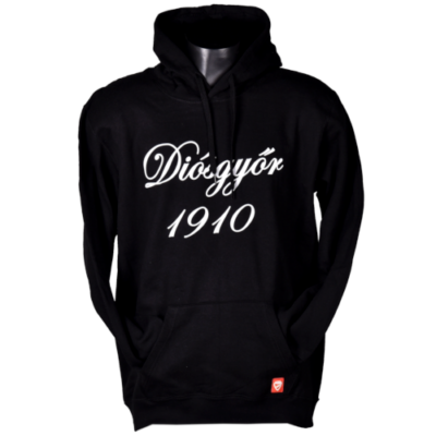 Fekete kapucnis pulóver - Diósgyőr 1910