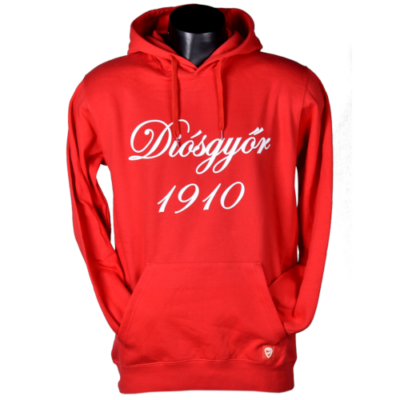 Piros kapucnis pulóver - Diósgyőr 1910