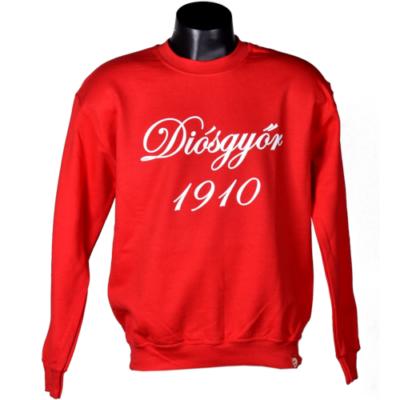 Piros környakas pulóver - Diósgyőr 1910