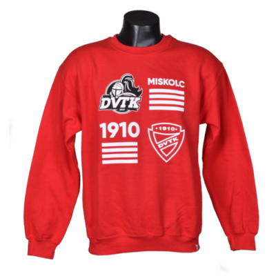 Felnőtt piros szurkolói pulóver