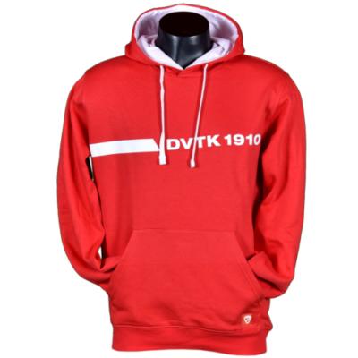 Piros kapucnis pulóver - DVTK 1910