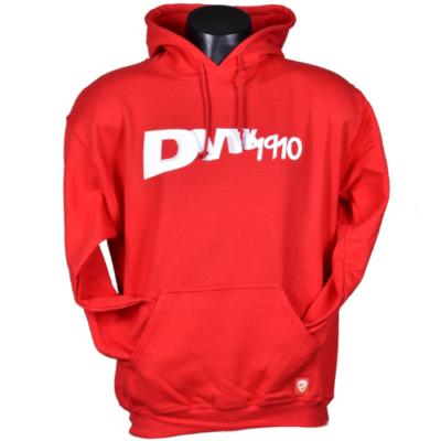 """""""DVTK 1910"""" feliratos pulóver - piros"""