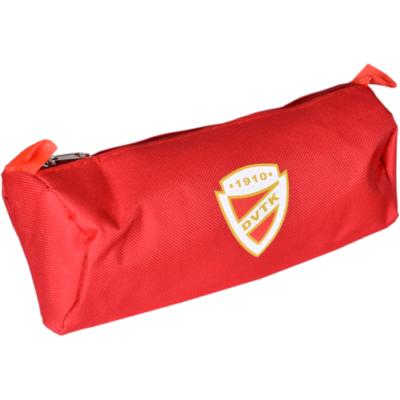 DVTK címeres piros színű tolltartó