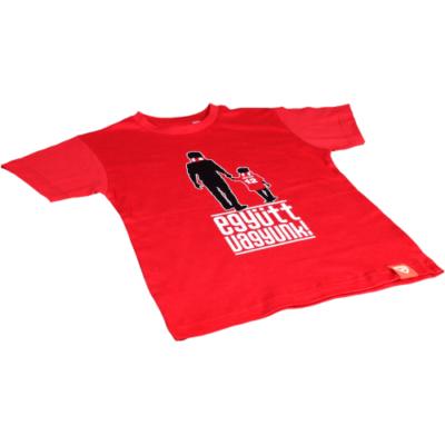 """Gyerek - """"Együtt vagyunk"""" - piros póló"""