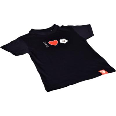 """Gyerek - """"I ♥ DVTK"""" - fekete póló"""