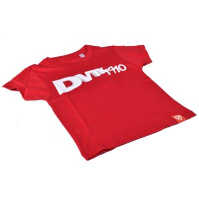 """Gyerek - """"DVTK 1910"""" feliratos póló - piros"""