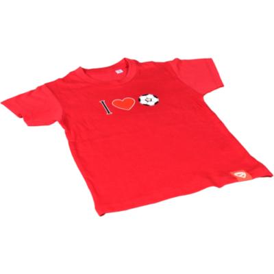 """Gyerek - """"I ♥ DVTK"""" - piros póló"""