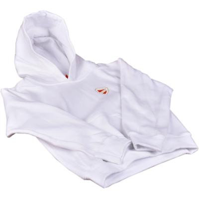 Fehér gyerek kapucnis pulóver