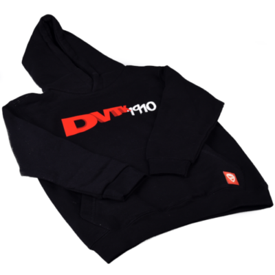 """Gyerek - """"DVTK 1910"""" feliratos pulóver - fekete"""