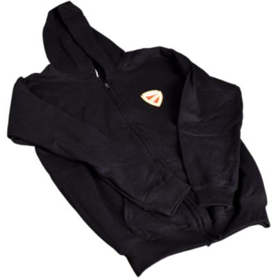 Fekete gyerek kapucnis pulóver
