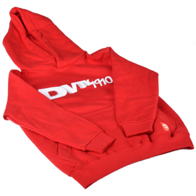 """Gyerek - """"DVTK 1910"""" feliratos pulóver - piros"""