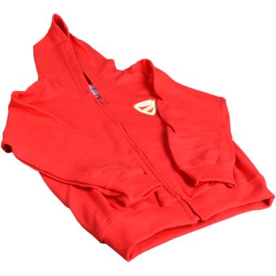 Piros gyerek kapucnis pulóver