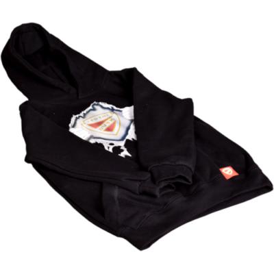 Gyerek tépős kapucnis pulóver