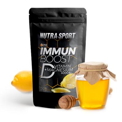 Immunboost-D-vitamin+Magnézium Lemon 750gr