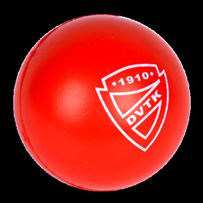 Stresszlevezető labda piros