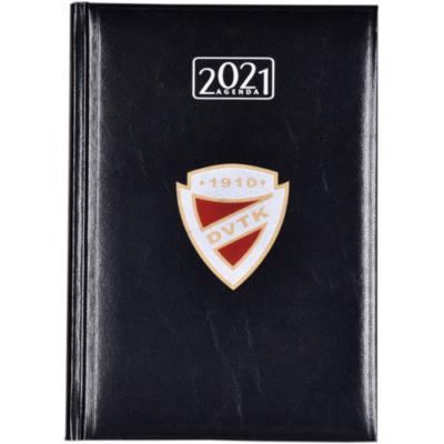 DVTK címeres határidőnapló 2021 - fekete