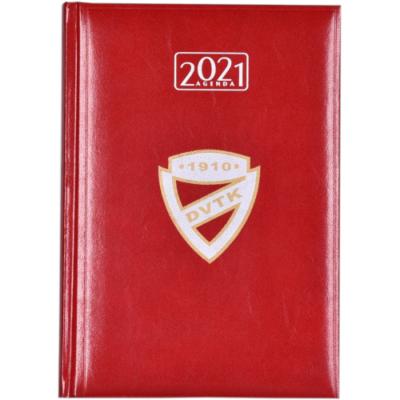 DVTK címeres határidőnapló 2021 - piros