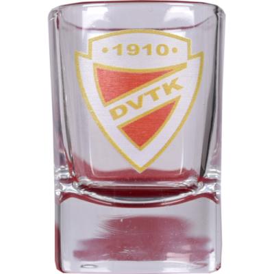 DVTK címeres pálinkás pohár