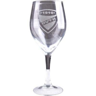 DVTK címeres boros pohár