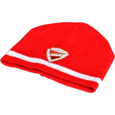 DVTK címeres sapka, piros színben