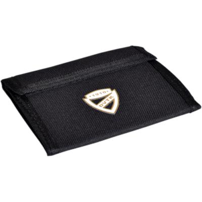 DVTK címeres, fekete színű pénztárca