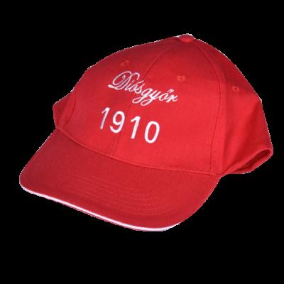Baseball sapka piros - Diósgyőr 1910